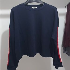 🌟 Garage 💕 Stripped Sweater